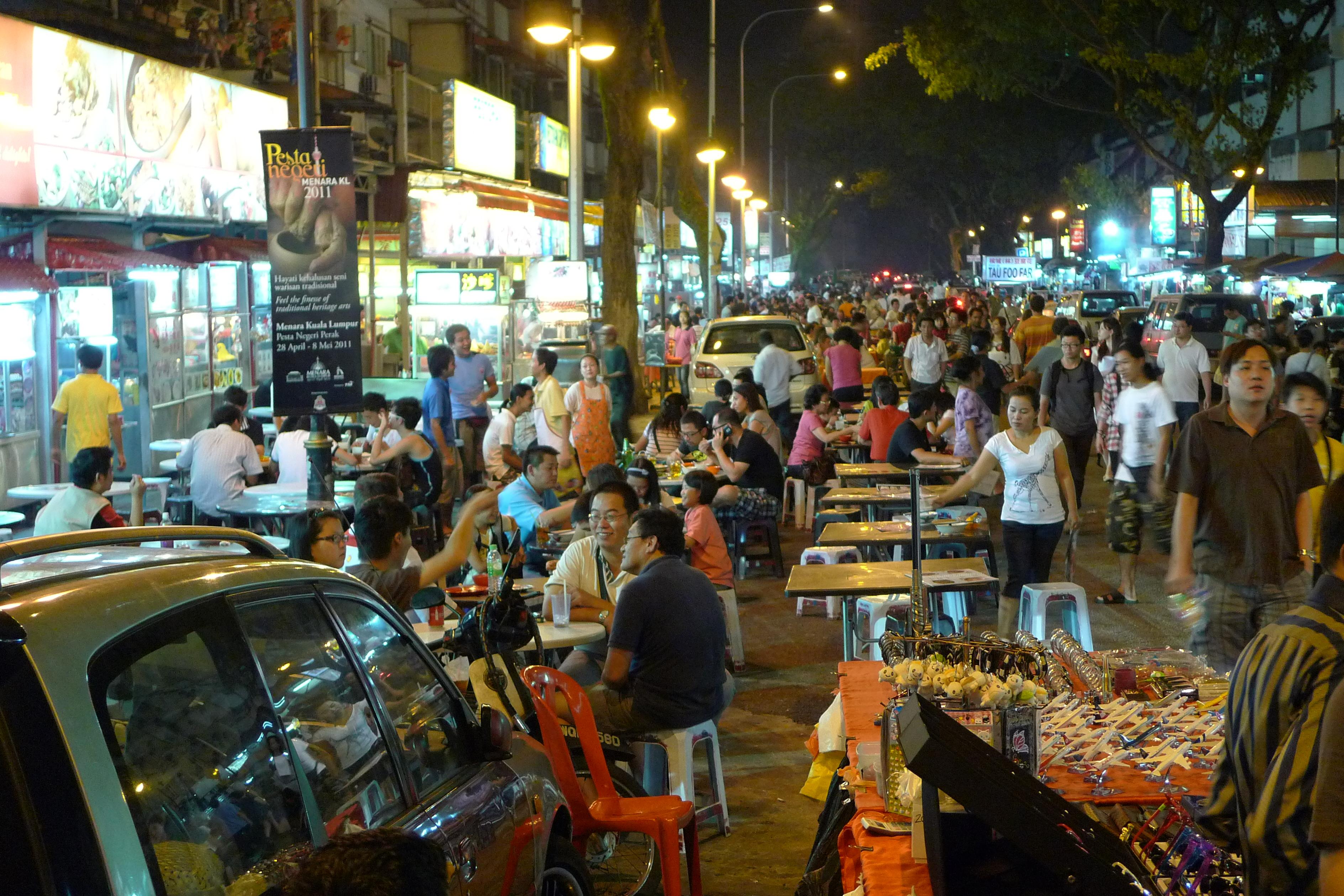 Food Street Kuala Lumpur: Visit Malaysia in 2020