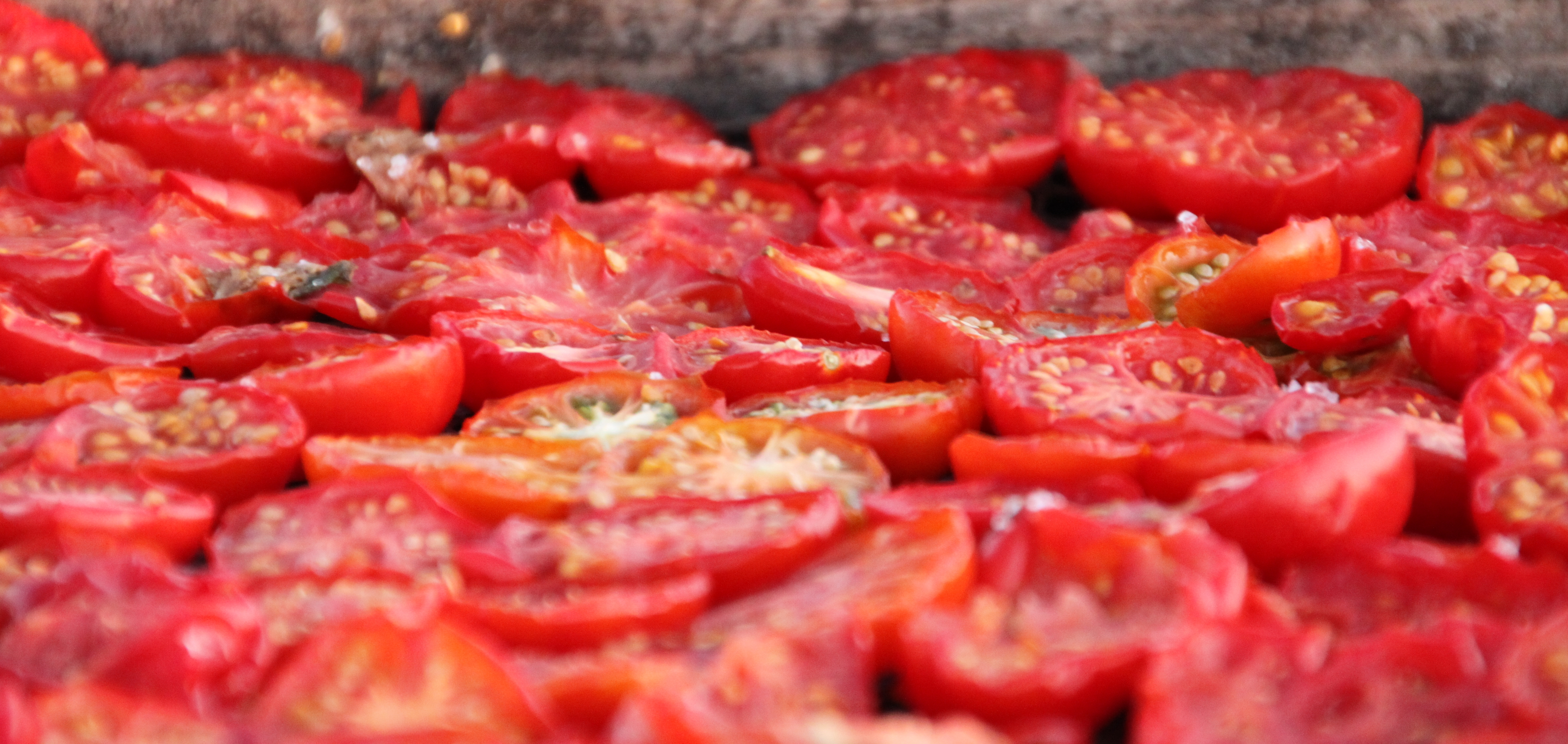 oven dried tomatoes - Mira Dessy, grains&more