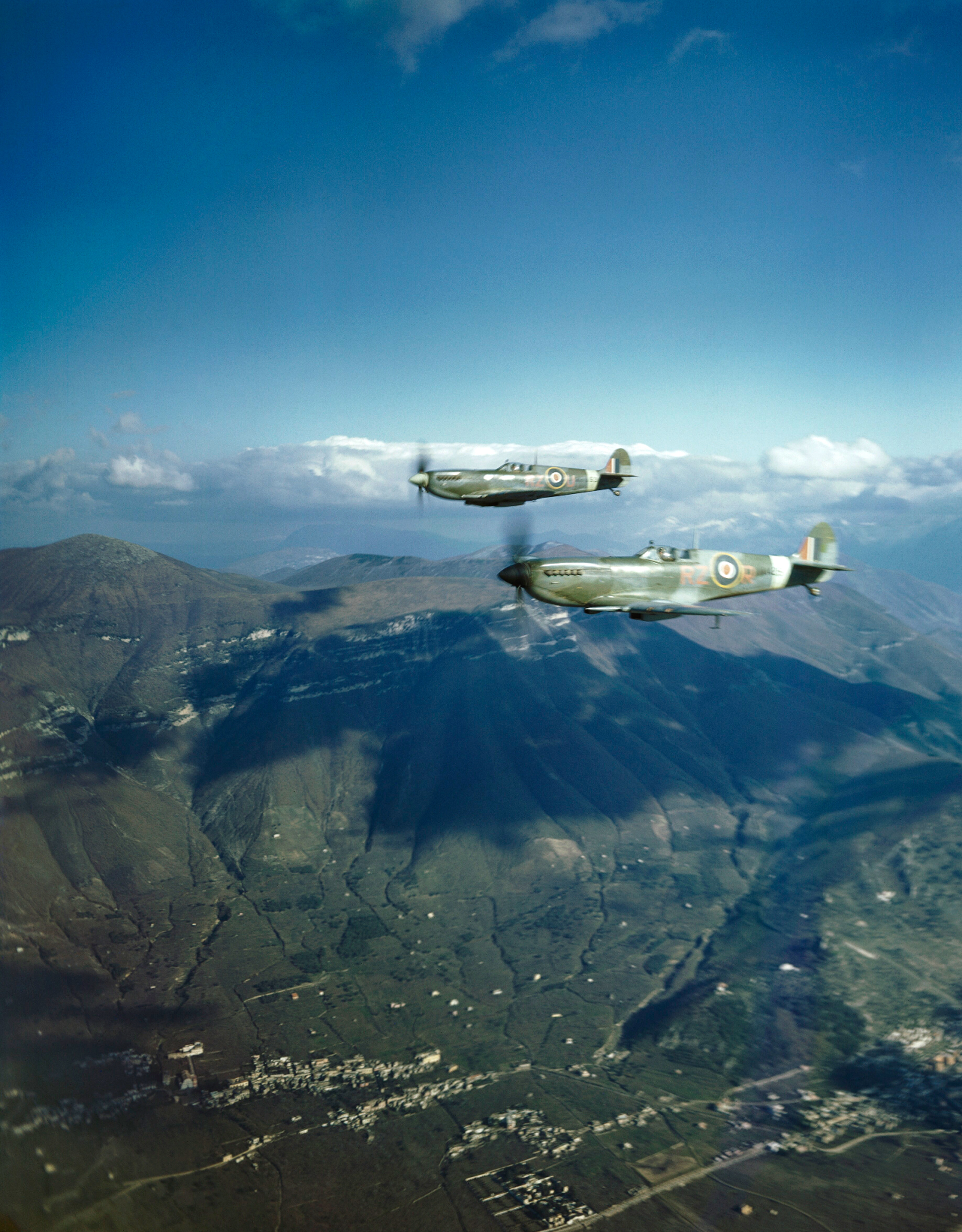 RAF Supermarine Spitfires, Italy, January 1944