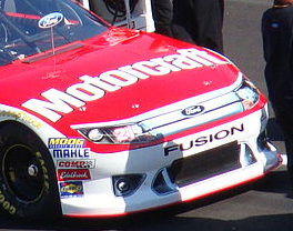 The new nose that NASCAR is using for the 2011...