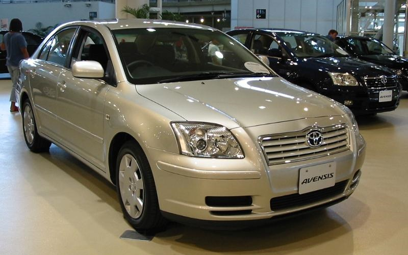 File Toyota Avensis 2004 Jpg Wikimedia Commons