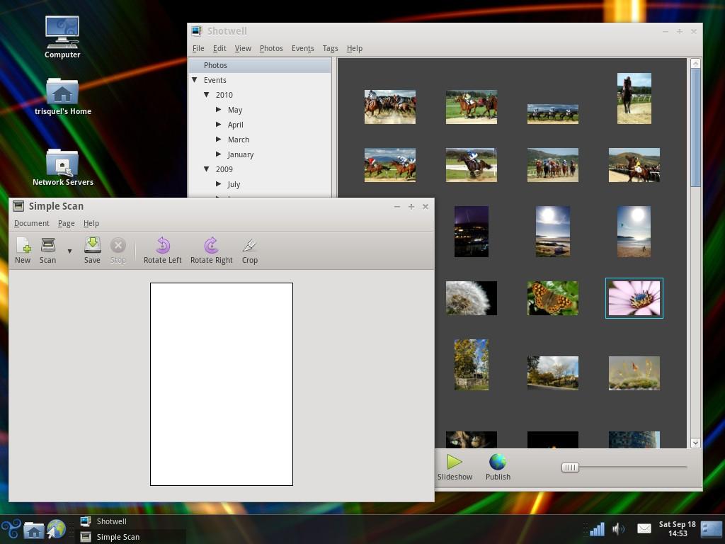 File:Trisquel GNU Linux 4 0 screenshot - Scan and Shotwell jpg