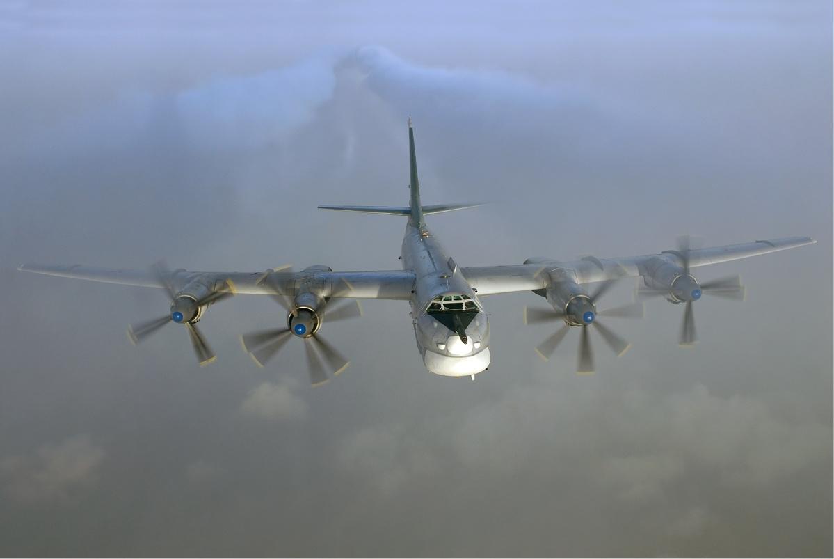 Russian Tupolev Tu-95 Bear Bomber