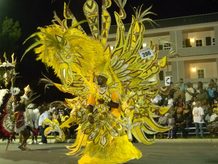 The exotic and energetic Junkanoo festival in full swing, Nassau