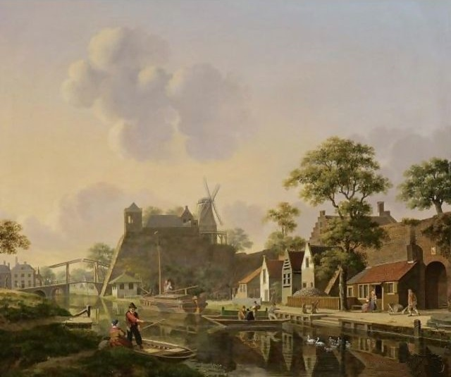 File:Verheijen, stad aan een kanaal.jpg