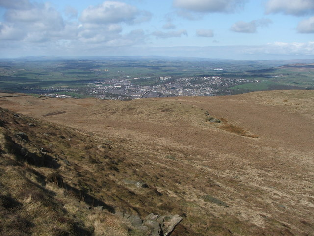 View from Skipton Moor. - geograph.org.uk - 152879