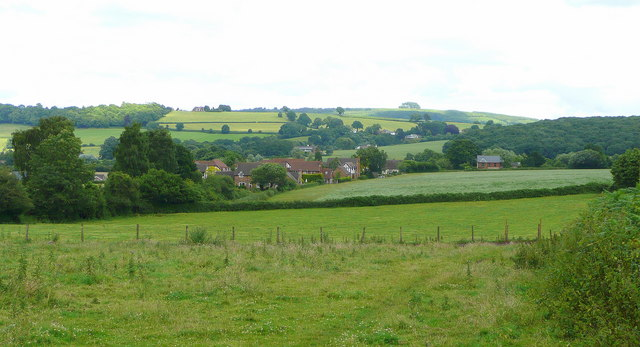 View to Lea and May Hill - geograph.org.uk - 883598