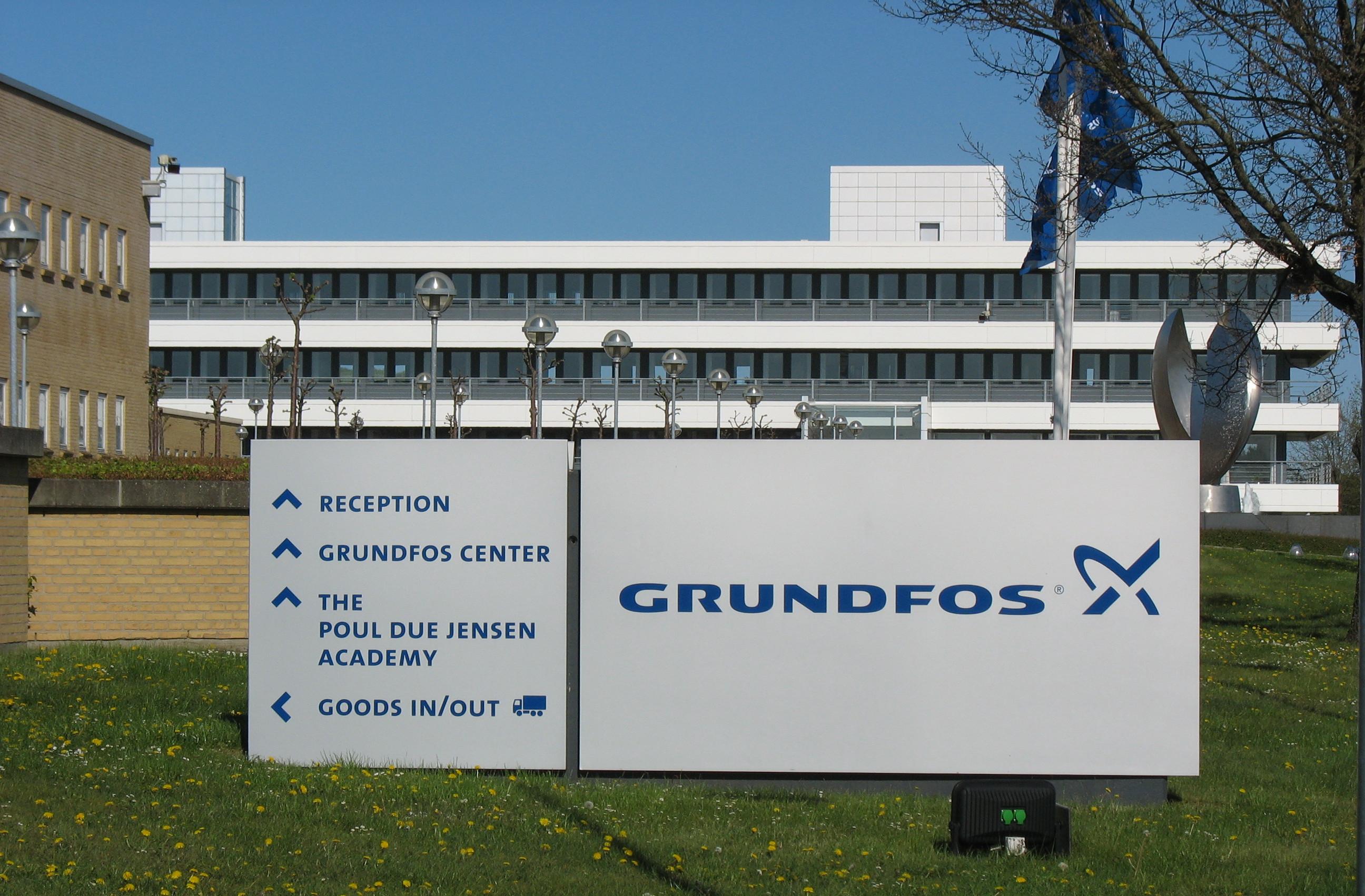 nogensinde populær 100% autentisk bedste værdi Grundfos - Wikipedia