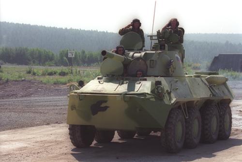 Armamento ruso: Vehiculos de tierra