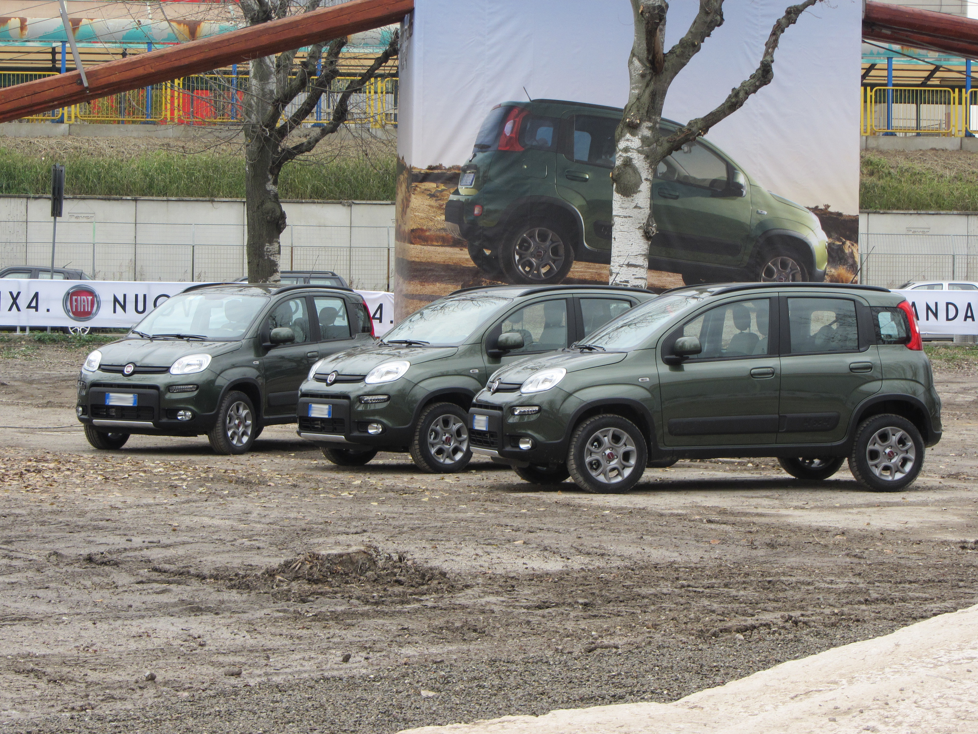 "File:"" 12 - ITALY - Fiat Panda 4x4 Off-road drive ..."