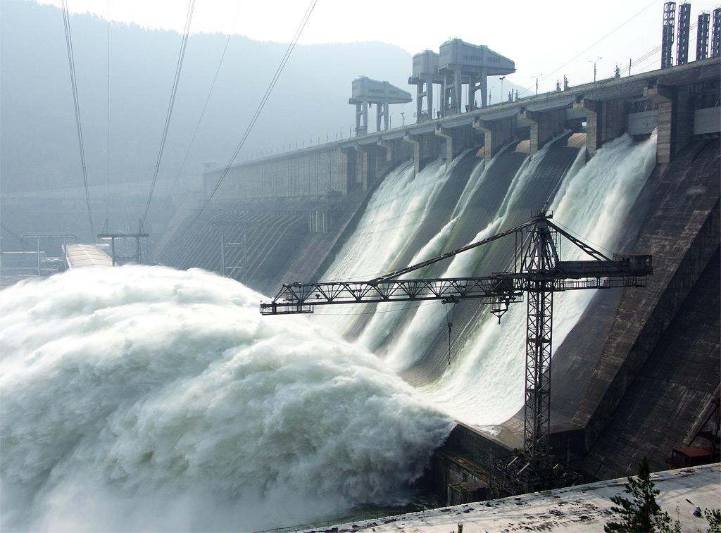 Красноярская ГЭС — Википедия