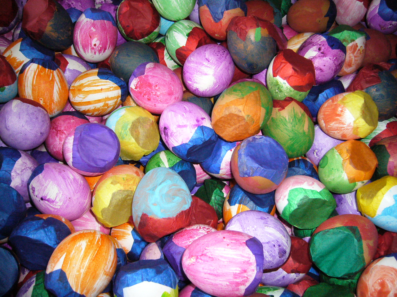 Image result for confetti eggs easter