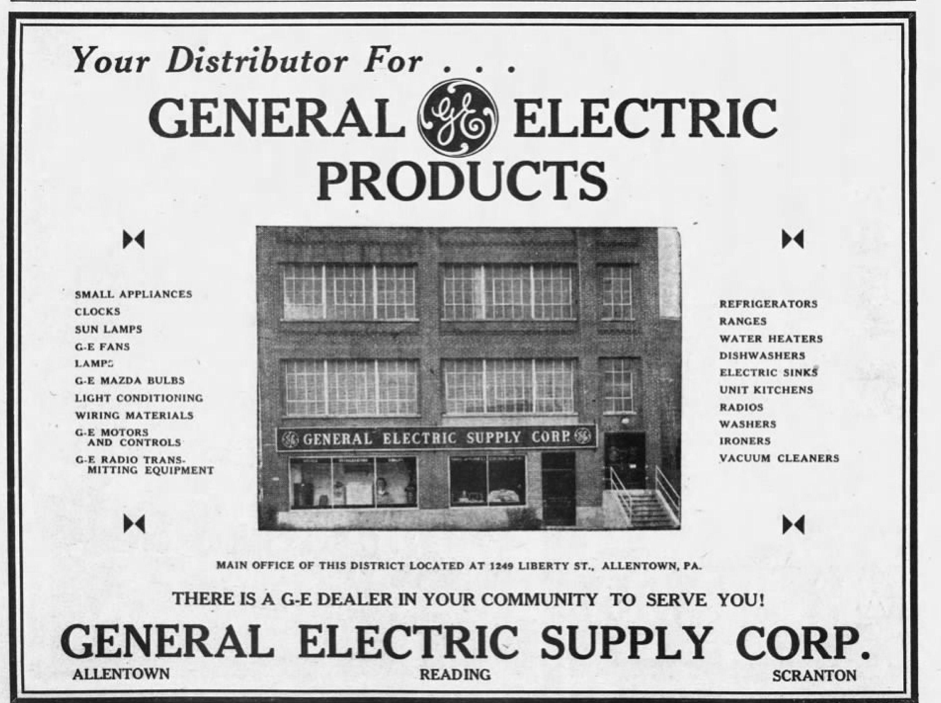 22 pa wiring file 1940 general electric supply 31 jan mc allentown pa jpg  general electric supply 31 jan mc