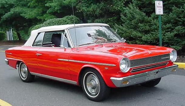 File 1964 rambler american 440 convertible red nj jpg for Classic american convertibles for sale