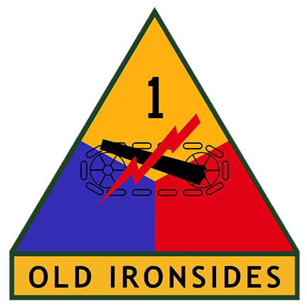 1st Armored Division DUI