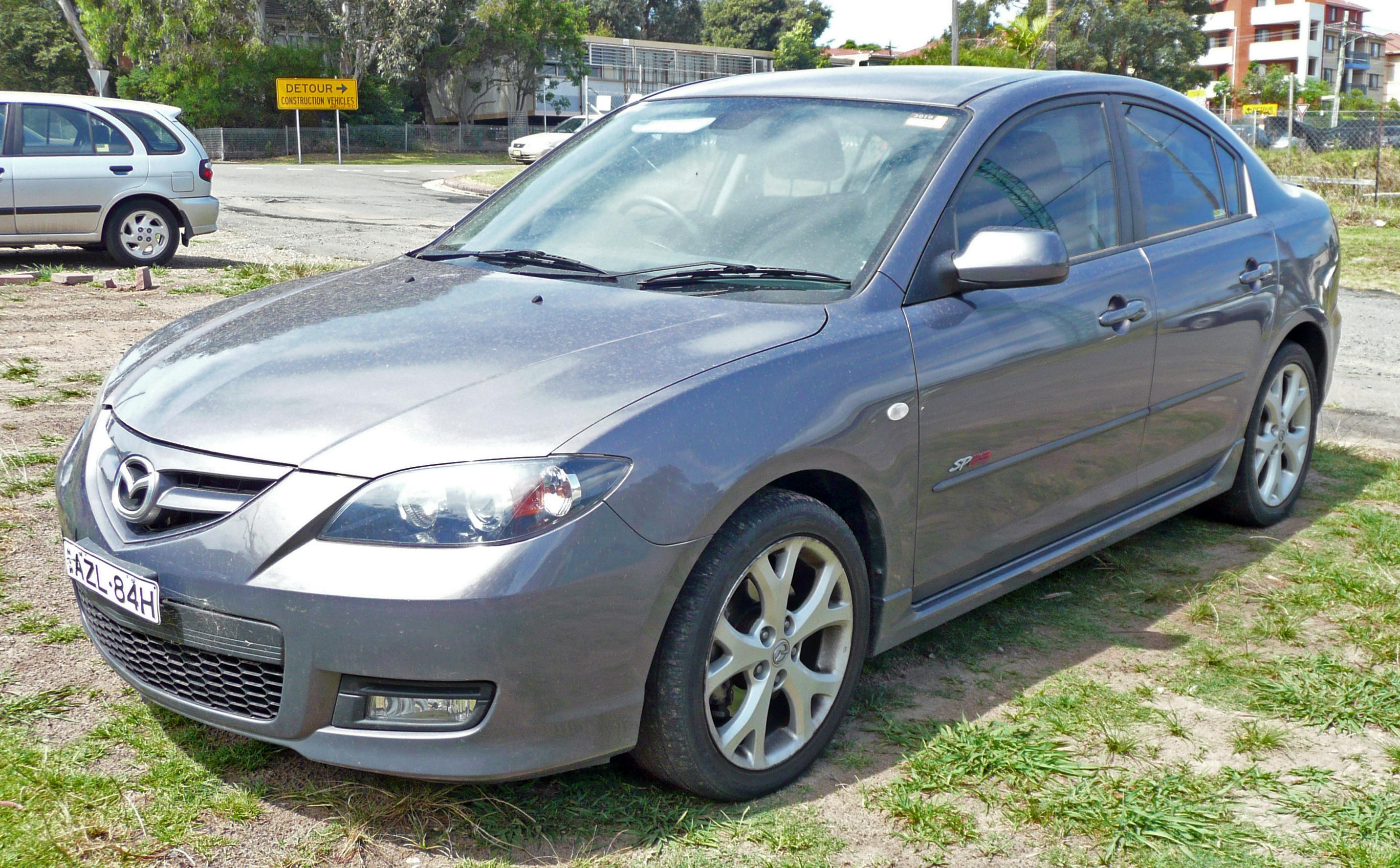 100  Mazda 2008   2008 Phantom Blue Mica Mazda Mazda3 S Grand