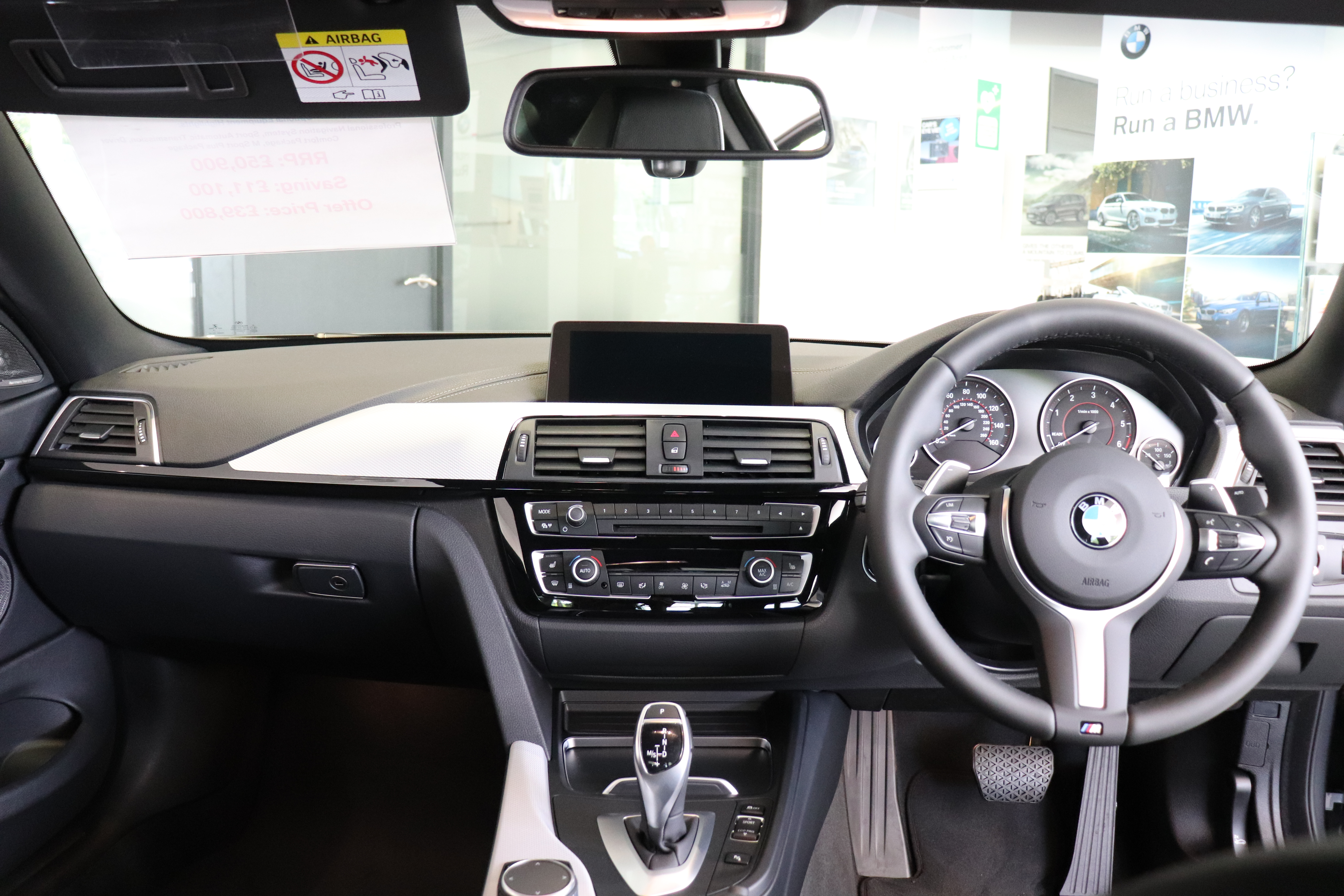 File 2018 Bmw 435d Xdrive M Sport Coupe Interior Jpg Wikimedia Commons