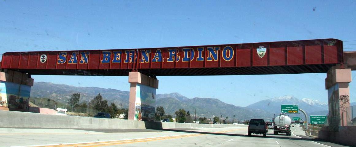 Image result for san bernardino overpass