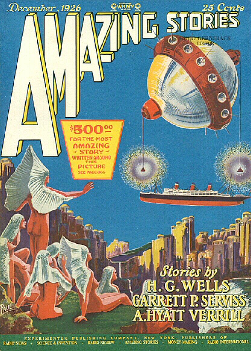Amazing Stories Volume 21 Number 06: File:2612 Amazing Stories December 1926.jpg