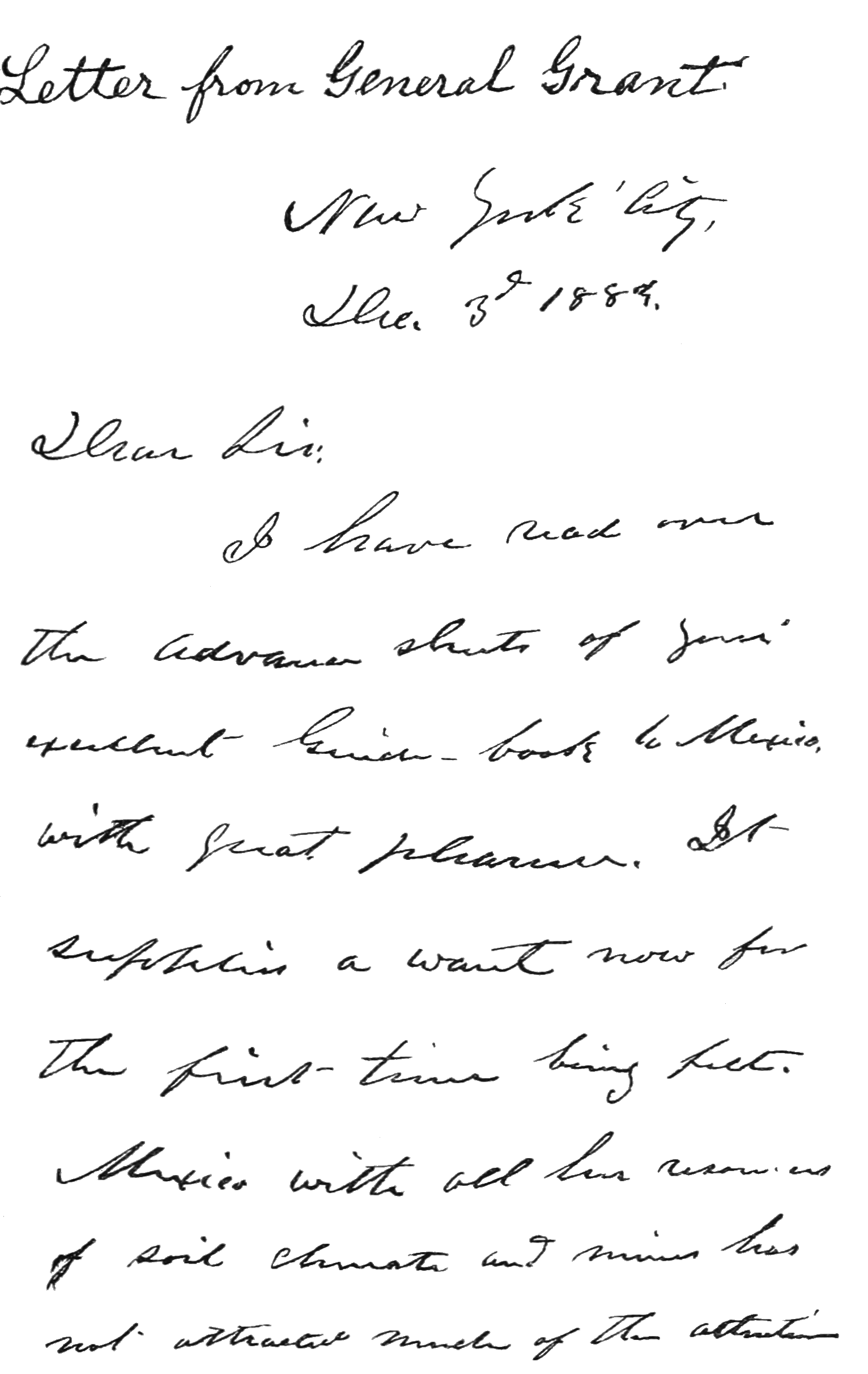 AGTM D011 Letter from General Grant Page 1.png