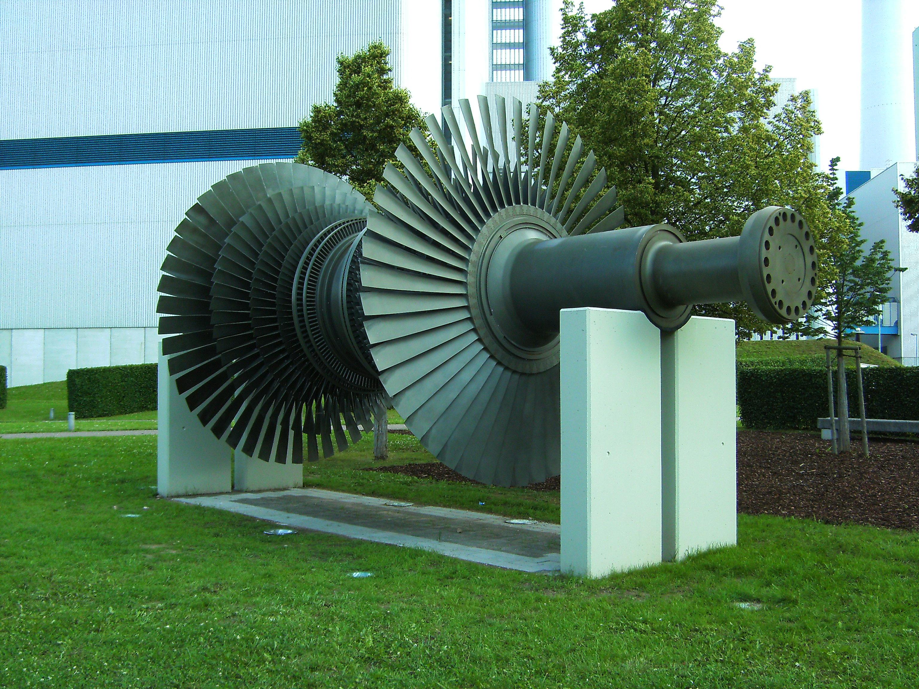 File Altbach Power Plant Turbine on display JPG Wikimedia mons