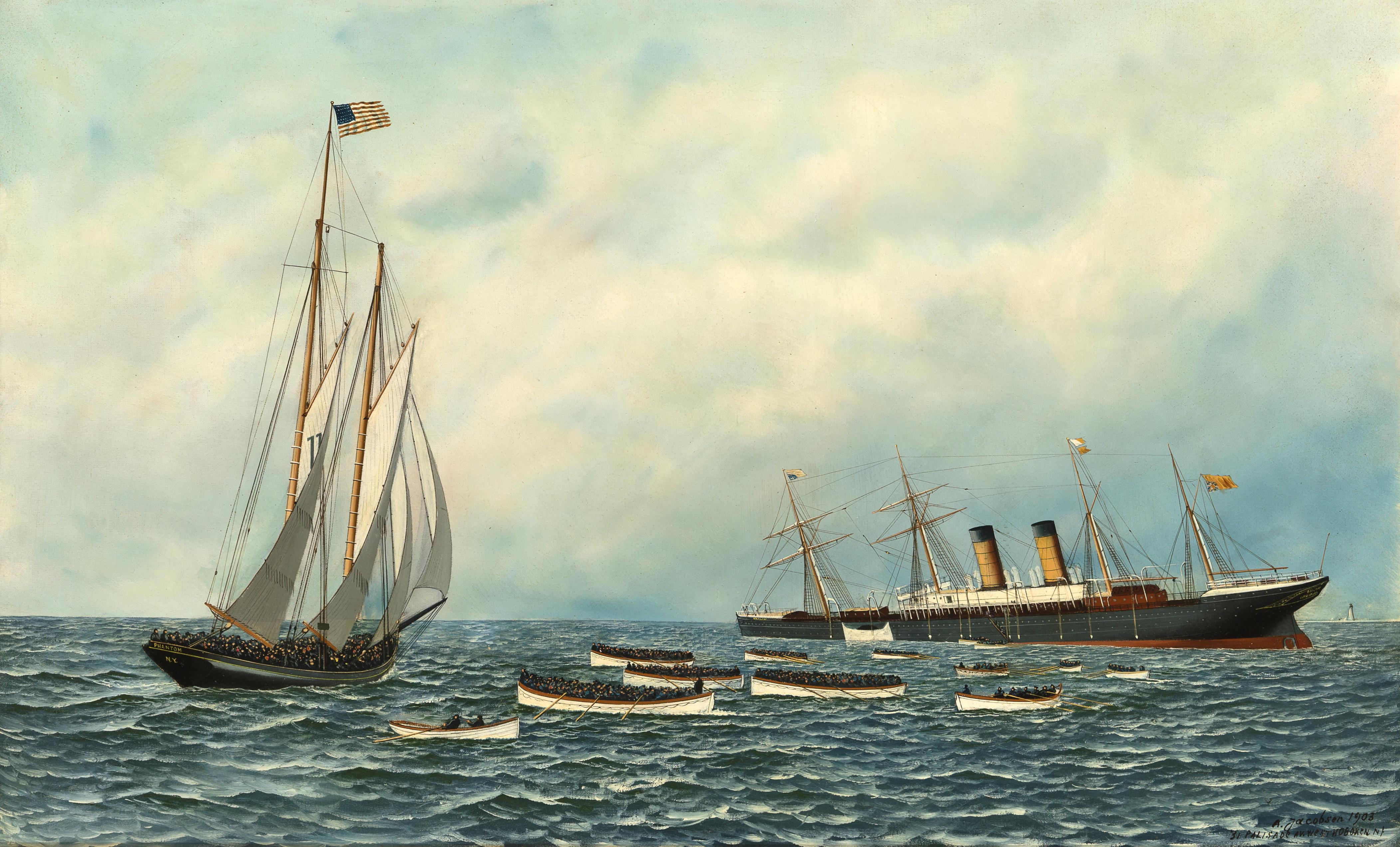 Sinking Ships - The Cinema Clock