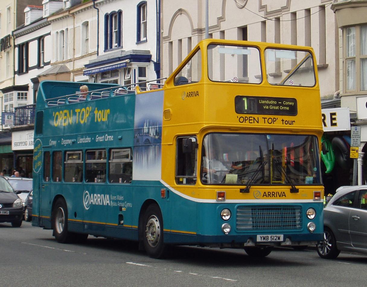 File:Arriva Wales open top Bristol VR 3992 Llandudno.jpg