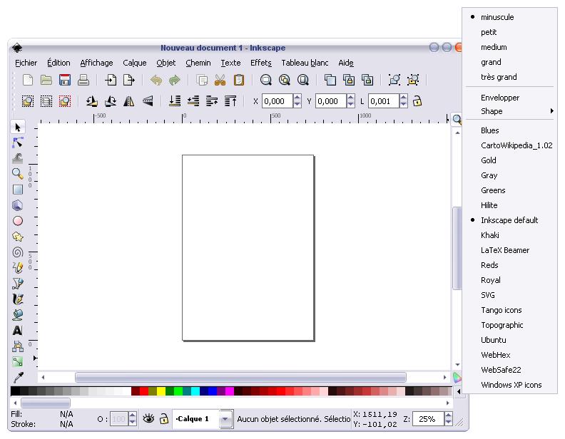 logiciel visualiseur de couleurs
