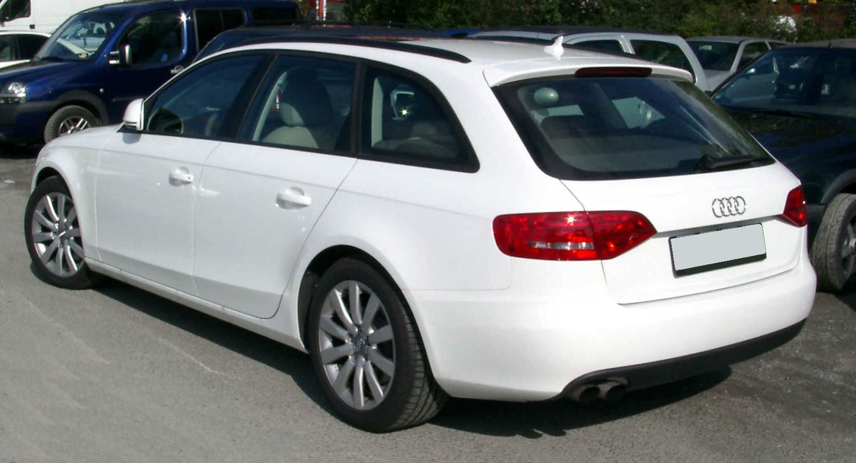 File Audi A6 C6 Avant Rear 20081007 Jpg Wikimedia Commons