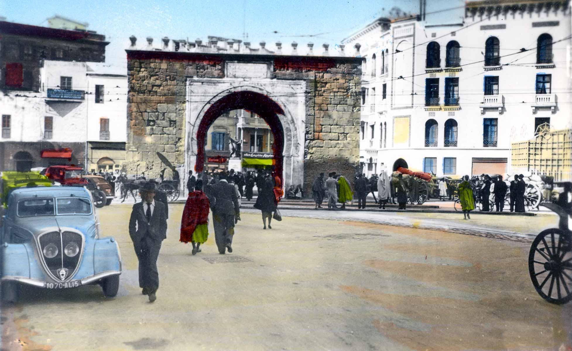 تونس في صورة من الماضي Babelbhar_1940