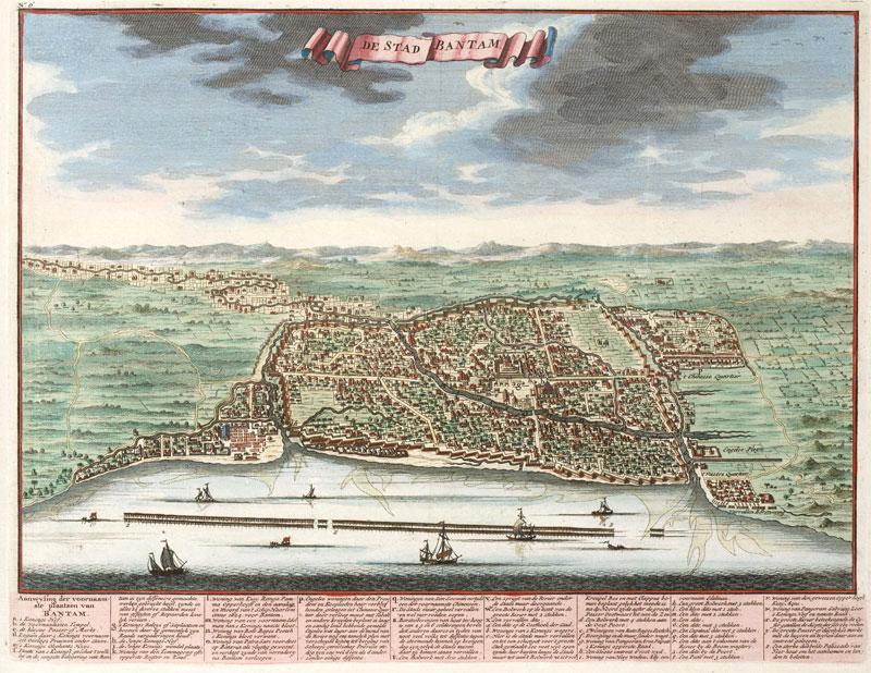 Banten city Java 1724