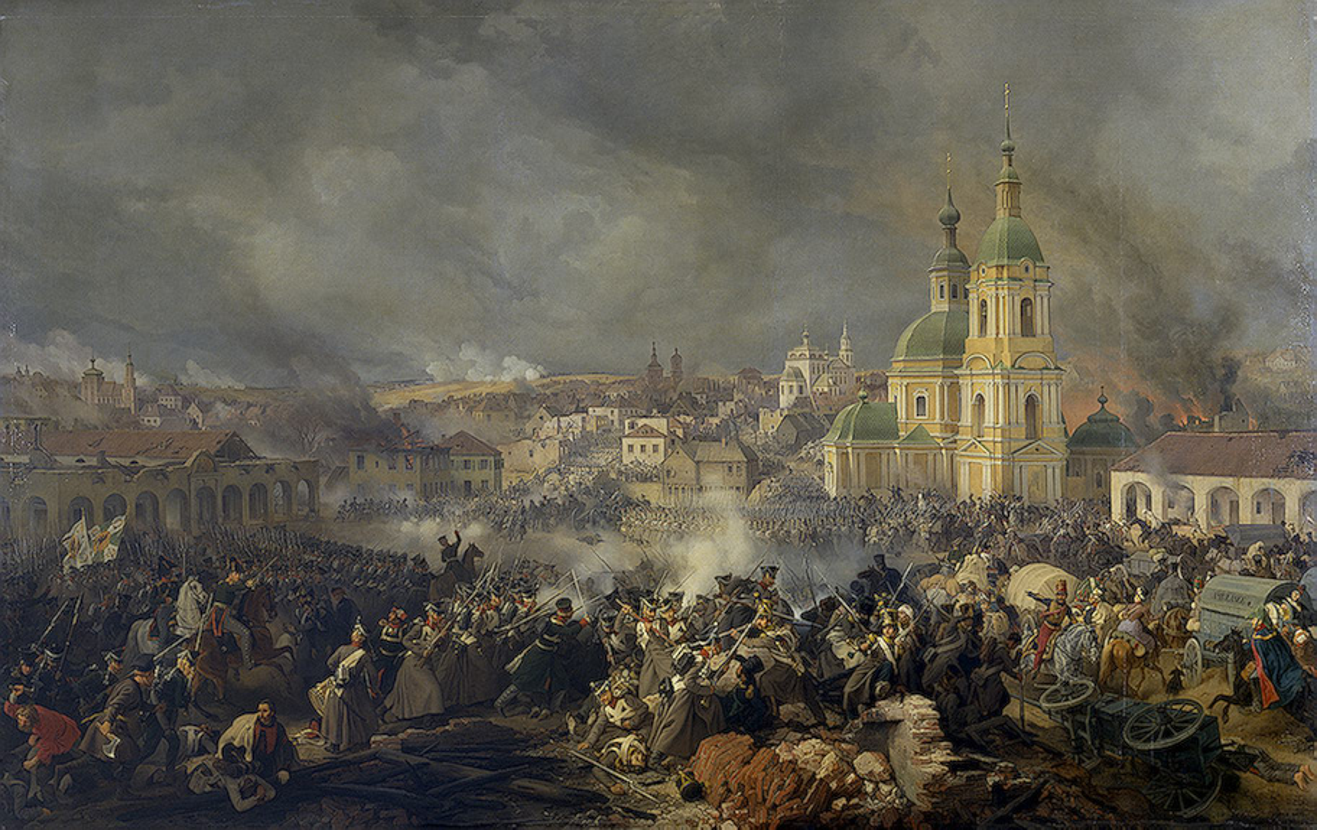 Battle Of Vyazma Wikipedia