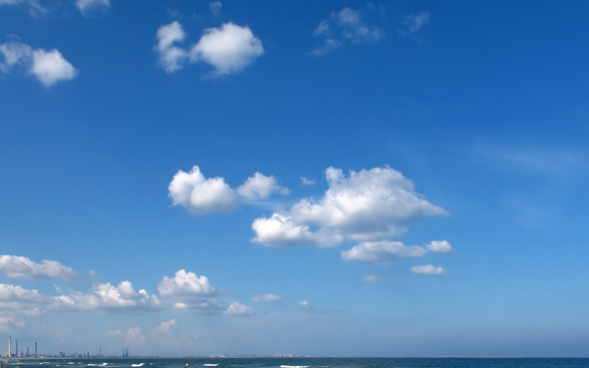 file:blue sky with clouds wallpaper (5080737587) - wikimedia commons