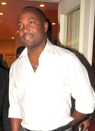 The 49-year old son of father Bunty lara and mother Pearl Lara Brian Lara in 2018 photo. Brian Lara earned a  million dollar salary - leaving the net worth at 60 million in 2018
