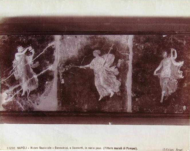 ... Danzatrici, o baccanti, in varie pose (pitture murali di Pompei).jpg