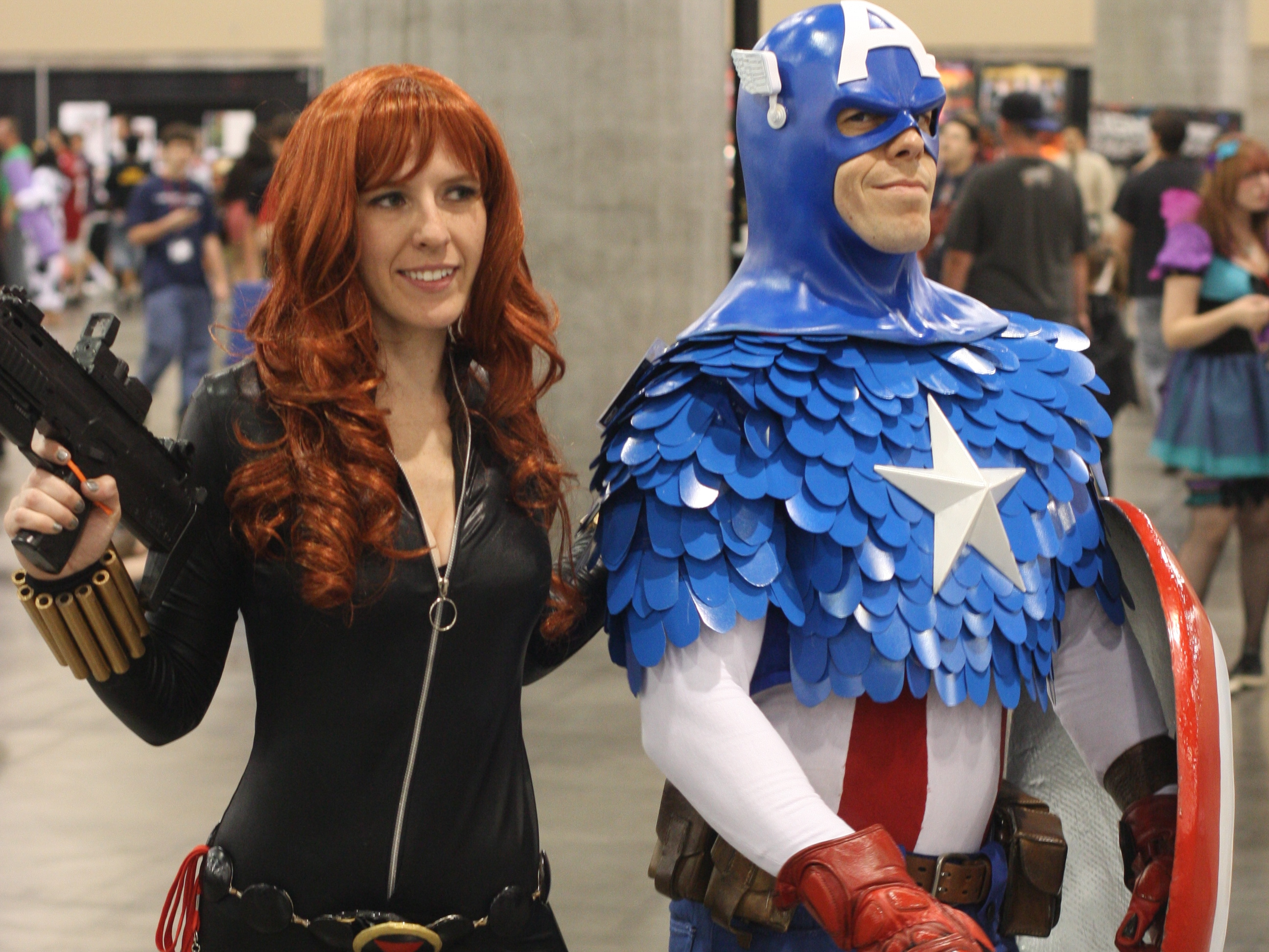 Captain America And Bl...