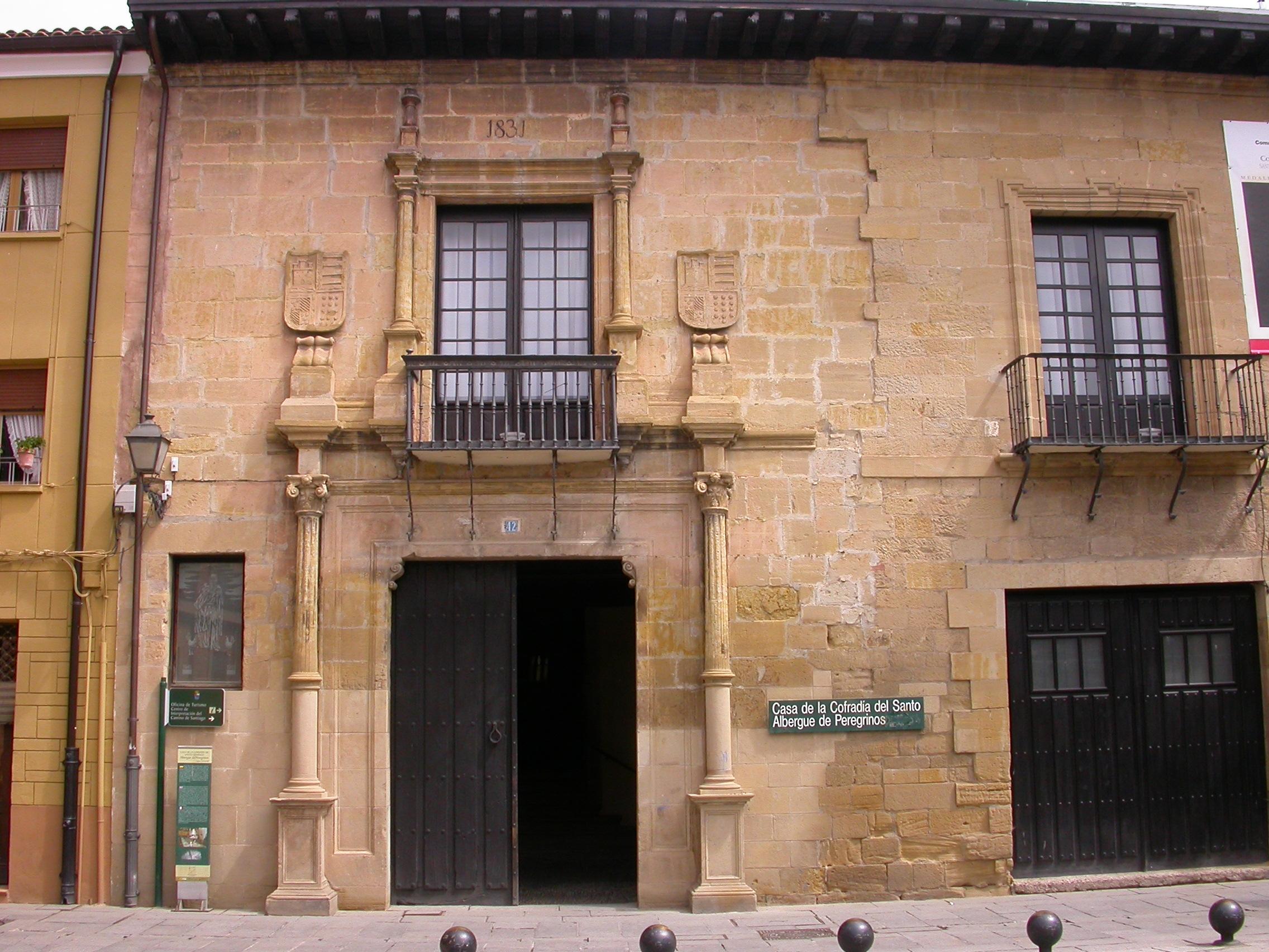 File casa de la cofrad a del santo albergue de peregrinos jpg wikimedia commons - Casa rural santo domingo dela calzada ...