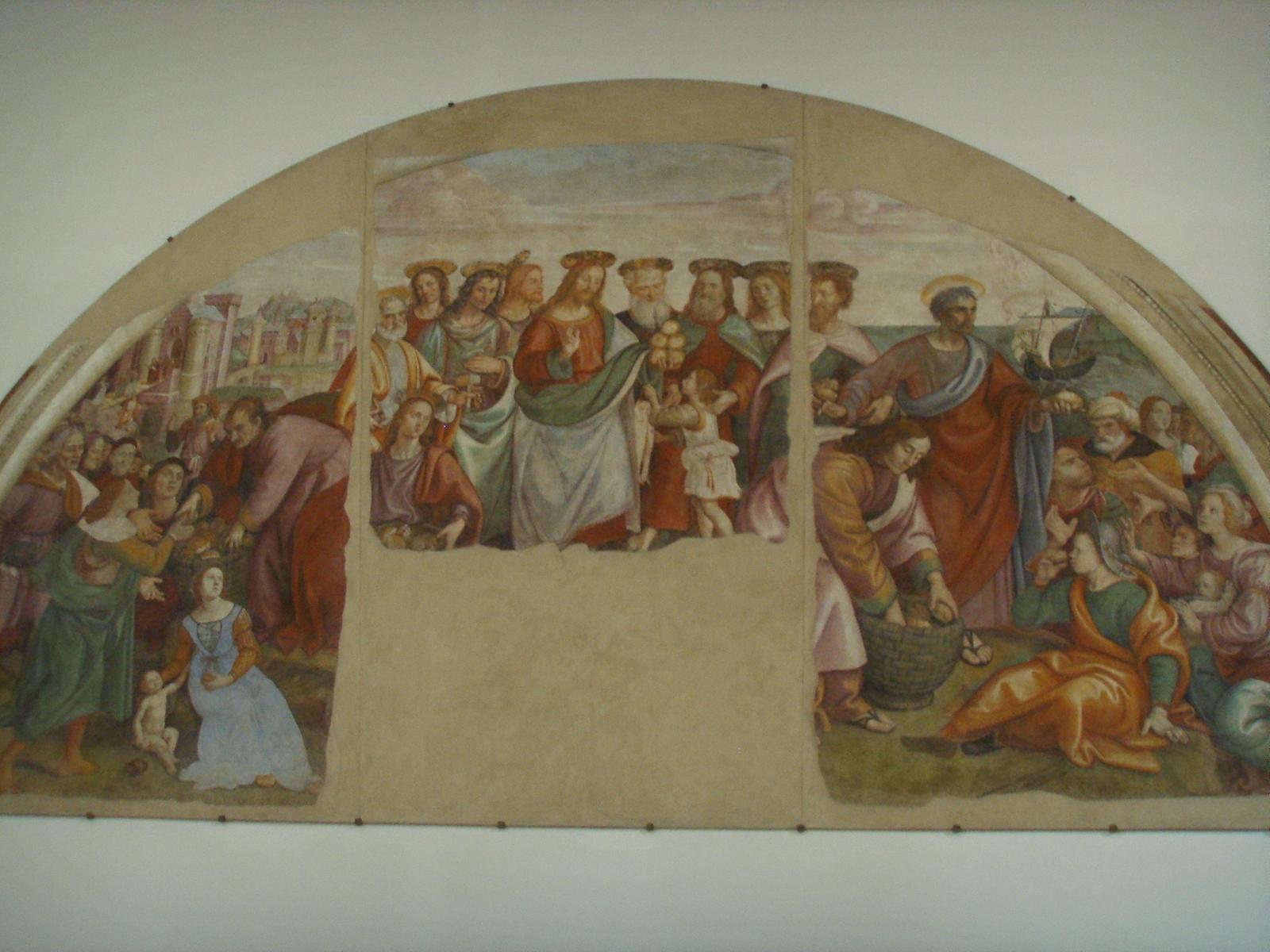 Rodolfo papa la bellezza rivelata moltiplicazione dei for Immagini della dispensa del maggiordomo