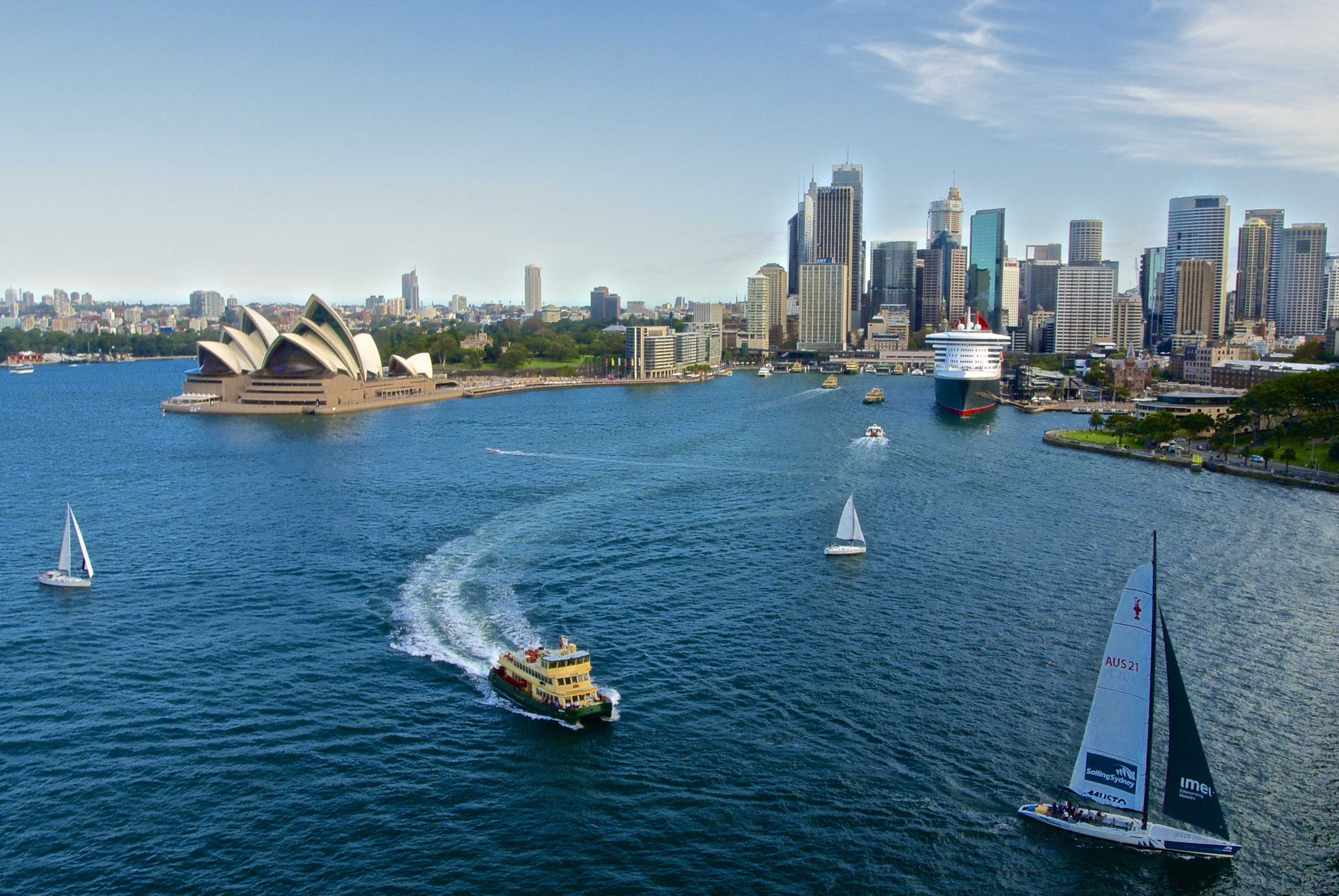 File Circular Quay Sydney As Seen From The Sydney Harbour