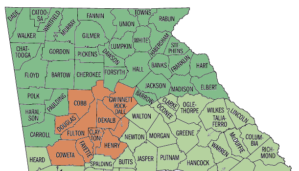 Map Of North Georgia Counties.File Counties Of Historic Highland Region Of Ga Png Wikimedia Commons