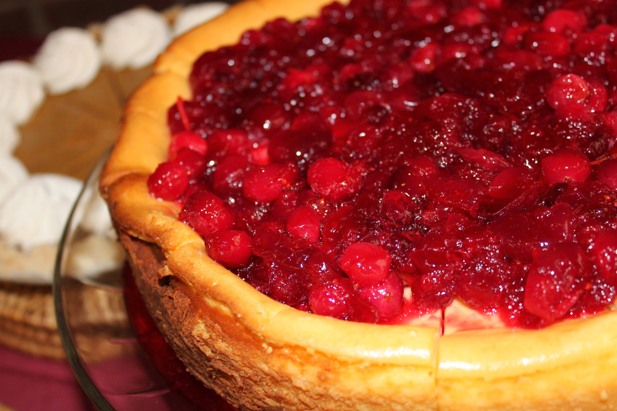 File:Cranberry cheesecake is the best!.jpg - Wikimedia Commons