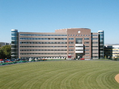 Cornell's Center for Advanced Computing was one of the five original centers of the NSF's Supercomputer Centers Program. Decentrhodeshall.jpg