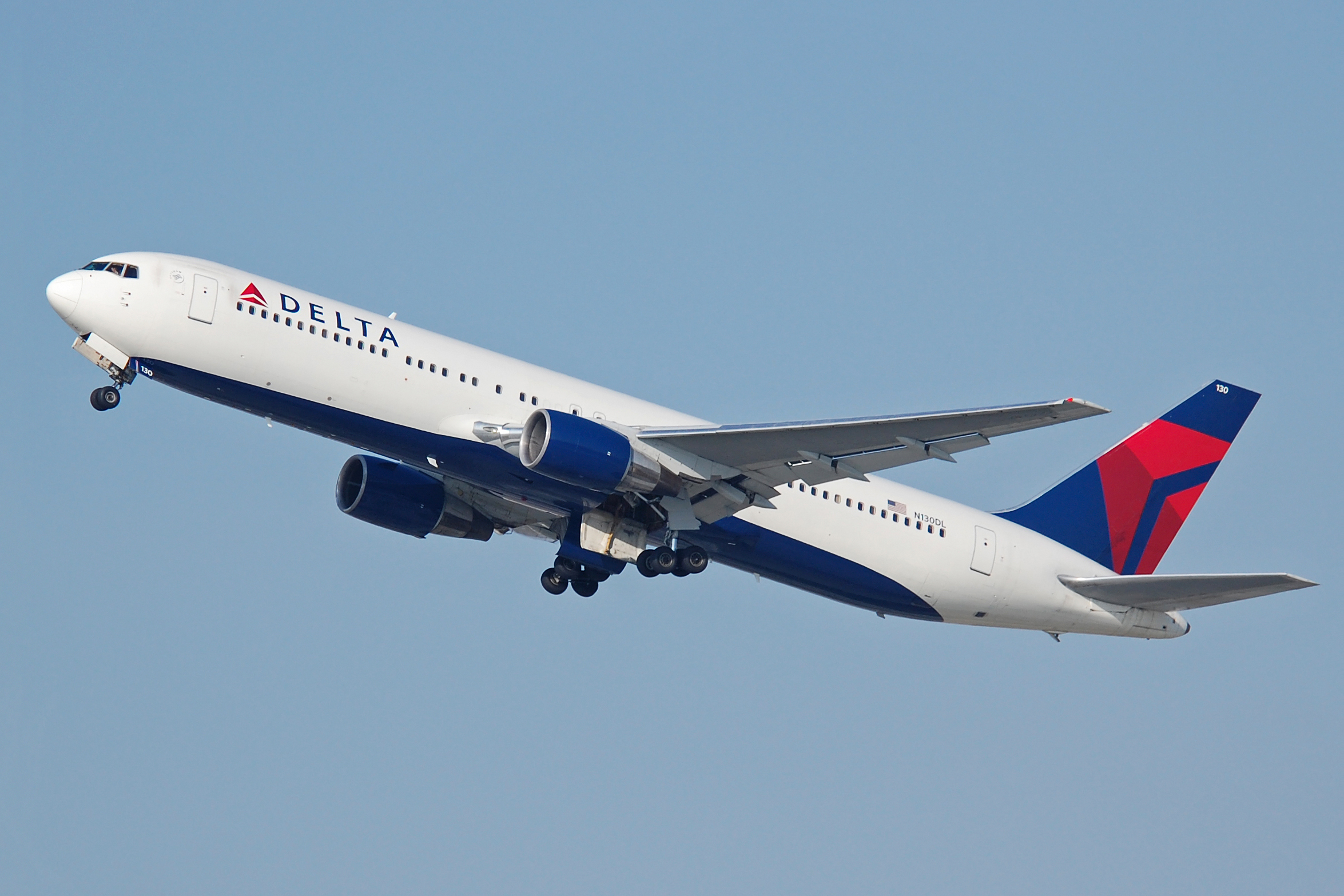 As fears of the coronavirus spread, U.S.-China travel is grinding to a halt Richard Snyderfrom San Jose, CA, United States of America,Delta Air Lines B767-300 N130DL,CC BY-SA 2.0