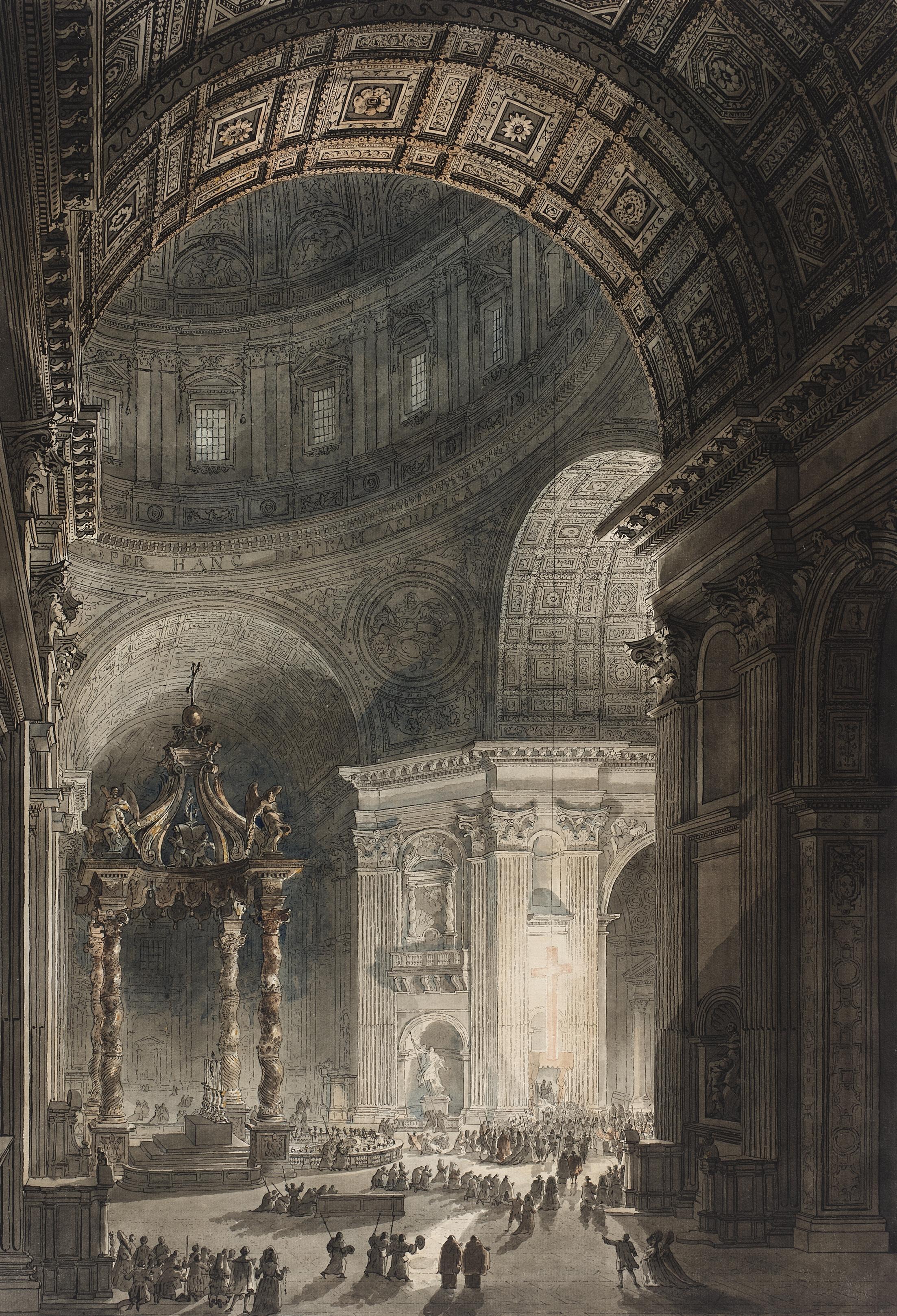 File desprez piranesi illumination of the cross in st for Art architectural