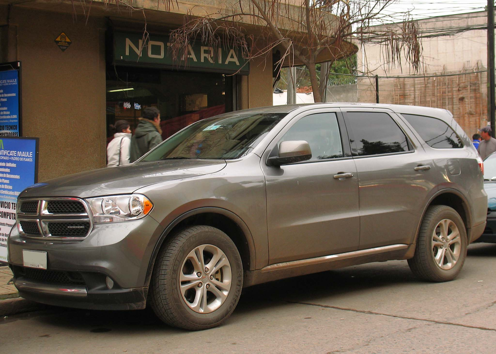 File Dodge Durango 3 6 Express 2011 Jpg Wikimedia Commons