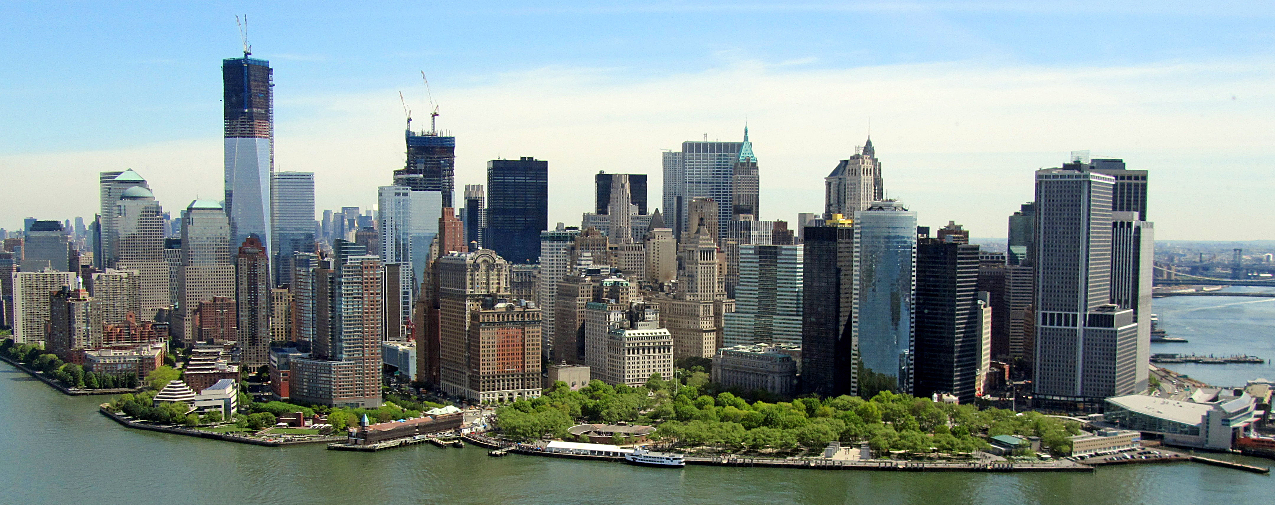 File Downtown Manhattan From Heli April2012 Jpg