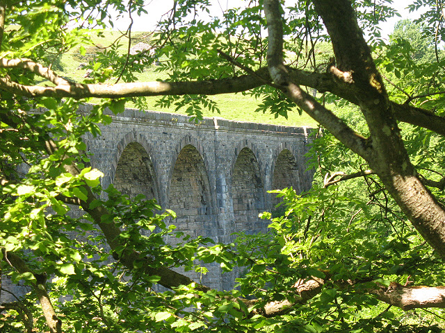 East side of Smardale Viaduct - geograph.org.uk - 1406668