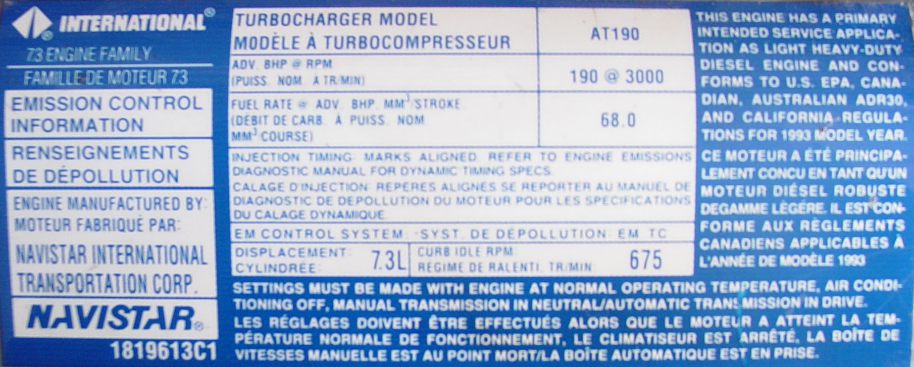 7.3 Powerstroke Specs >> Ford Power Stroke Engine Wikipedia