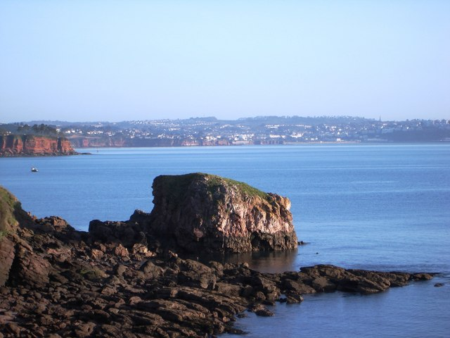 Eroded Sandstone, near Saltern Cove - geograph.org.uk - 366430