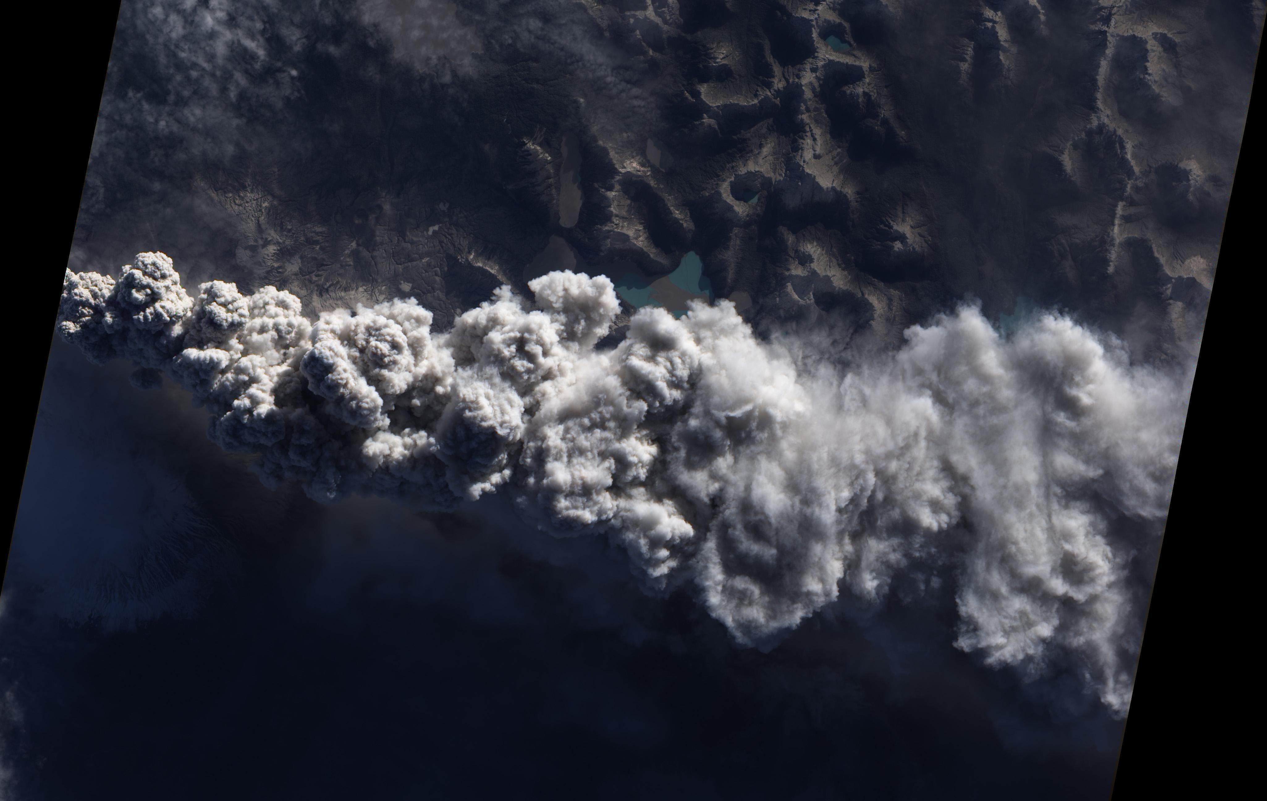 Извержение чилийского вулкана Puyehue-Cordon